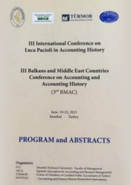 3rd International Conference on Luca Pacioli in Accounting History: 3rd Balkans an Middle East Countries Conference on Accounting and Accounting History: Program and Abstracts