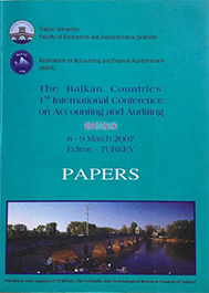 The Balkan Countries 1st International Conference on Accounting and Auditing : Papers